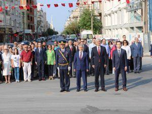 Akhisar'da 30 Ağustos Zafer Bayramı'nın 95.yılı kutlandı
