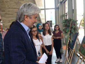 Akhisar Belediyesi Sanat Atölyesi Resim Sergisi açıldı