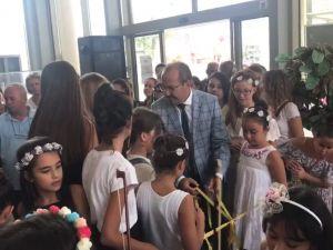 Akhisar Belediyesi Sanat Atölyesi Hobi Kursu Pusula Sergisi açıldı