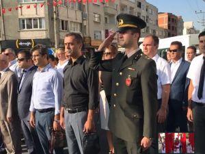 İlköğretim Haftası kutlama programı Milli Egemenlik Meydanı Atatürk anıtına çelenk sunma töreni
