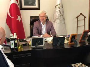 Akhisar Belediye Başkanı Salih Hızlı, Erzurum Büyükşehir Belediye Başkanını konuk etti
