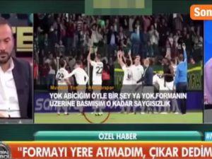 Fenerbahçe Formasına Bastığı İddia Edilen Mustafa Yumlu Özür Diledi