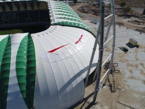 Spor Toto Akhisar Belediye Stadyumu 13 Ekim 2017 tarihli son durumu