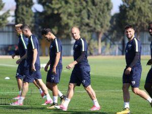 Teleset Mobilya Akhisarspor, Gençlerbirliği maçı hazırlıklarına başladı Okan Buruk ve Daniel Larsson Röportaj