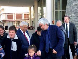 Akhisarlı Yasin Coşkun'u Bulgaristan'a Belediye Başkan Salih Hızlı uğurladı