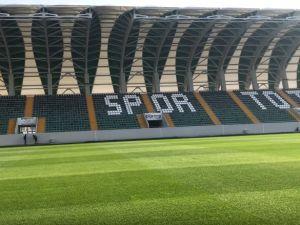 Spor Toto Akhisar Belediye Stadyumu hibrit çimleri TFF'den tam not aldı
