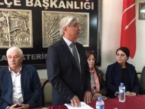 Akhisar CHP 24 Kasım Öğretmenler Günü açıklaması