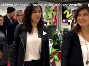 Vestel Akhisar Mağazası törenle açıldı, Akhisar Vestelleniyor