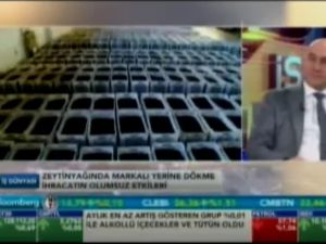 Akhisar Ticaret Borsası Başkanı Alper Alhat, Hisar Zeytincilik Y.K.B. Fettah Gürmen Bloomberg HT
