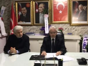AK Parti Akhisar ilçe teşkilatından kudüs basın açıklaması