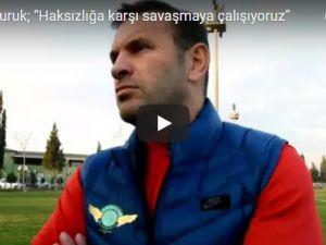T.M. Akhisarspor'da Okan Buruk, Galatasaray'dan özür diledi