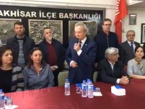 CHP İlçe Başkanı İsmail Fikirli, Mazbatayı Aldı ve ilk basın açıklamasını yaptı