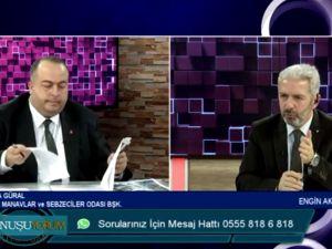 Engin Akyüz ile Konuşuyorum programının bu haftaki konuğu Mustafa Güral oldu