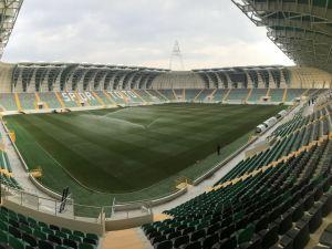 Spor Toto Akhisar Belediye Stadyumunda son rütuşlar 3 Ocak 2018