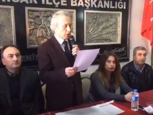 CHP Akhisar İLçe Teşkilatından stadyum tanıtım tepkisi