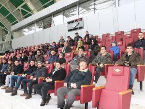 1970 saniyede büyük buluşma Spor Toto Akhisar Belediye Stadyumu 16 Ocak 2018 turu