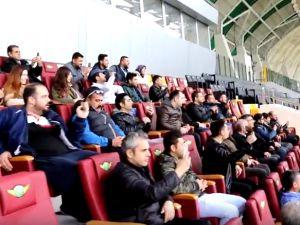 1970 saniyede büyük buluşma Spor Toto Akhisar Belediye Stadyumu 17 Ocak 2018 turu