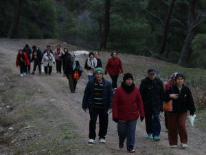 Akhisarlı sporseverlerin 21'inci haftaki rotası İsaca parkuru oldu   Akhisar Belediyesi Zinde Yaşam