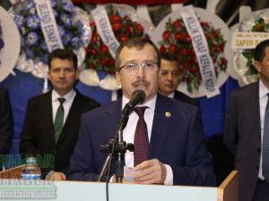 AK Parti Manisa Milletvekili Uğur Aydemir, Akhisar Esnaf Kefalet Kooperatifi seçimi konuşması