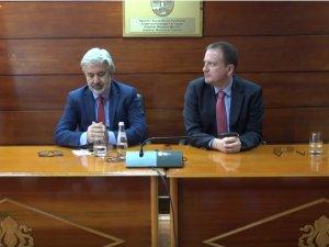 Akhisar Belediye Başkanı Salih Hızlı ve heyeti, kardeş şehir Gostivar'ı ziyaret etti