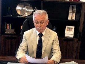 AK Parti Akhisar İlçe Teşkilatı Başkanı İbrahim Sayın, Filistin'e yapılan saldırıyı kınadı