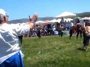 559 Çağlak Festivali, Cirit ve Değnek Atışları ile Güreş müsabakaları ile son buldu