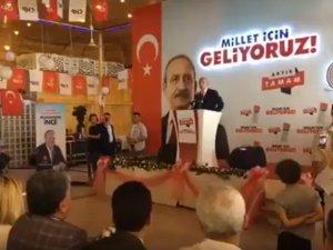 Kılıçdaroğlu Akhisar'da konuştu