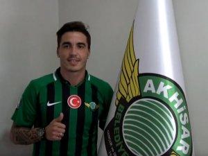 Akhisar Belediyespor'da Josue Filipe ile 2 yıllık sözleşme imzaladı