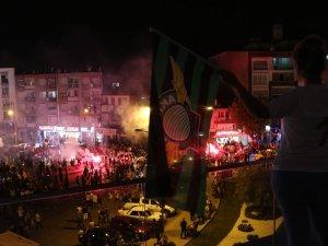 Akhisar'da Süper Kupa kutlamaları