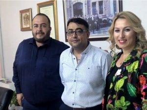 Akhisar Pazarcılar ve Lokantacılar Odası Başkanları Zabıta Haftasını kutladı