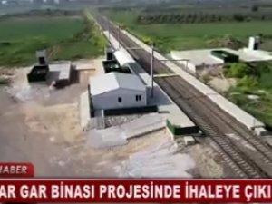 Akhisar yeni tren istasyonu gar binası ihaleye çıkıyor