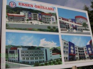 Akhisar Eksen Okulları Temel Atma töreni