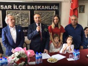 Alkan Tavlı, CHP'den Akhisar Belediye Başkan Aday adaylığını açıkladı