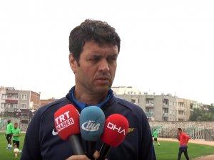 Akhisarspor, Sevilla maçı hazırlıklarını tamamladı, Teknik Direktör Cihat Arslan Röportaj