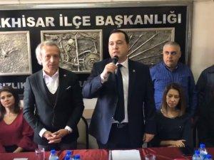 Besim Dutlulu, CHP'den belediye başkan aday adaylığını açıkladı