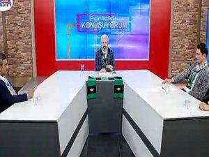 Akhisarspor taraftarı Akigolar, Engin Akyüz ile konuşuyorumun bu haftaki konuğu oldu
