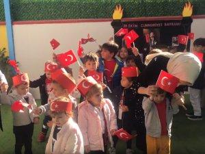 Özel Deniz Anaokulundan coşkulu Cumhuriyet Bayramı kutlaması