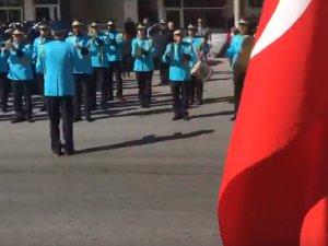 Cumhuriyet Bayramı 95.yılı çelenk sunma töreni