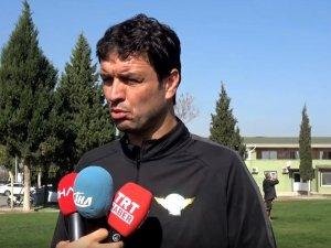 Akhisarspor, Erzurumspor maçı hazırlıklarını sürdürüyor, Cihat Arslan Röportaj