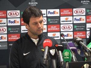 Akhisarspor, Sevilla maçı öncesi basın toplantısı