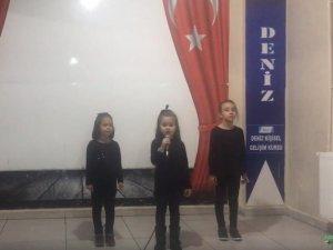 Özel Deniz Kişisel Gelişim Kursunda 10 Kasım Atatürk'ü anma töreni