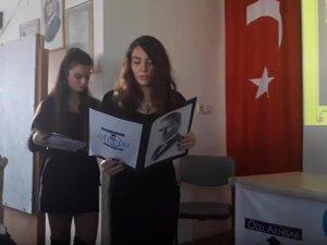 Özel Merkez Lisesi'nde Atatürk'ü Anma Töreni