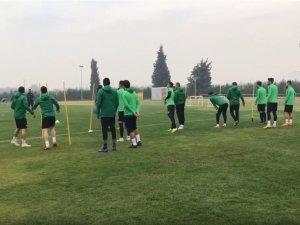 Akhisarspor, Bursaspor maçının 20 Kasım 2018 tarihli idmanı
