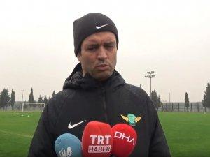 Akhisarspor'da Bursaspor maçı hazırlıkları sürüyor, Cihat Arslan Röportaj