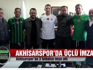 Akhisarspor 3 futbolcuya imzayı attırdı, Cihat Arslan Beşiktaş maçını yorumladı