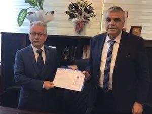 AK Parti Akhisar Belediye Başkan Adayı Hüseyin Eryüksel ilçe teşkilatını ziyaret etti