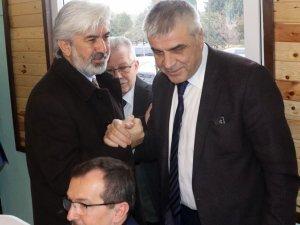Cumhur ittifakı AK Parti Akhisar Belediye Başkan Adayı Hüseyin Eryüksel, Aday Adayları ile buluştu