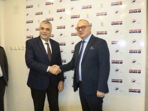 Cumhur ittifakı Manisa BŞB Adayı Cengiz Ergün AK Parti Akhisar İlçe Teşkilatını ziyaret etti