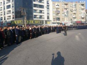 Atatürk'ün Akhisar'a gelişinin 96.yılı kutlandı