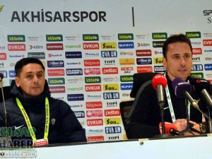 Akhisarspor Ankaragücü maçı ardından (0-0)